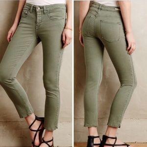 Pilcro Low Rise Straight Leg Jeans